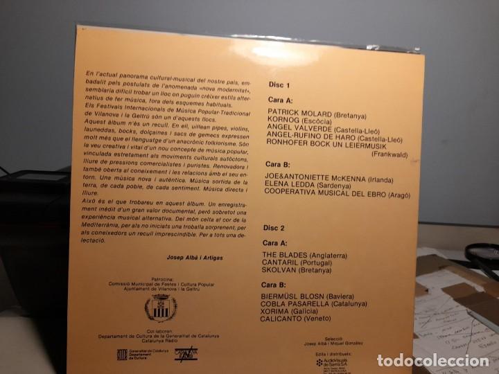 Discos de vinilo: DOBLE LP QUART I CINQUE FESTIVAL DE MUSICA POPULAR Y TRADICIONAL ( VILANOVA I LA GELTRU ) - Foto 2 - 286533133