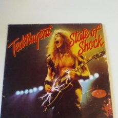 Disques de vinyle: TED NUGENT STATE OF SHOCK ( 1979 EPIC ESPAÑA ). Lote 286556848