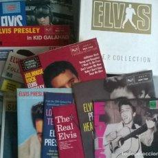 Discos de vinilo: ELVIS PRESLEY. THE E.P. COLLECTION. RCA, UK 1982 ESTUCHE CON 11 VINILOS + ENCARTE. Lote 286563473