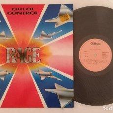 Disques de vinyle: DISCO VINILO RAGE OUT OF CONTROL (HEAVY METAL) LP 1981. Lote 286569953