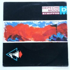 Discos de vinilo: DEPECHE MODE – STRIPPED / BUT NOT TONIGHT , SCANDINAVIA 1986 MUTE. Lote 286570273