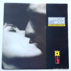 Discos de vinilo: DEPECHE MODE – A QUESTION OF LUST / CHRISTMAS ISLAND , SCANDINAVIA 1986 MUTE. Lote 286571333