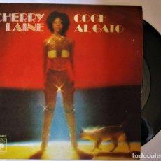 Discos de vinilo: SINGLE CHERRY LAINE (COGE EL GATO / VEN A CANTAR) CBS-1979. Lote 286571853