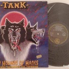 Disques de vinyle: DISCO VINILO TANK LOS PERROS INMUNDOS DEL INFIERNO LP 1982. Lote 286572018