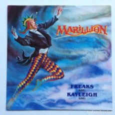 Discos de vinilo: MARILLION – FREAKS (LIVE) / KAYLEIGH (LIVE) , EUROPE 1988 EMI. Lote 286572888