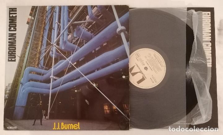 DISCO VINILO J.J BURNEL EUROMAN COMETH LP 1979 (Música - Discos - LP Vinilo - Punk - Hard Core)