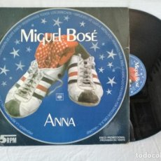 Discos de vinilo: MIGUEL BOSE MAXI ANNA PROMOCIONAL MUY BUEN ESTADO. VER + DETALLES EN FOTOS ADJUNTAS. Lote 286589663