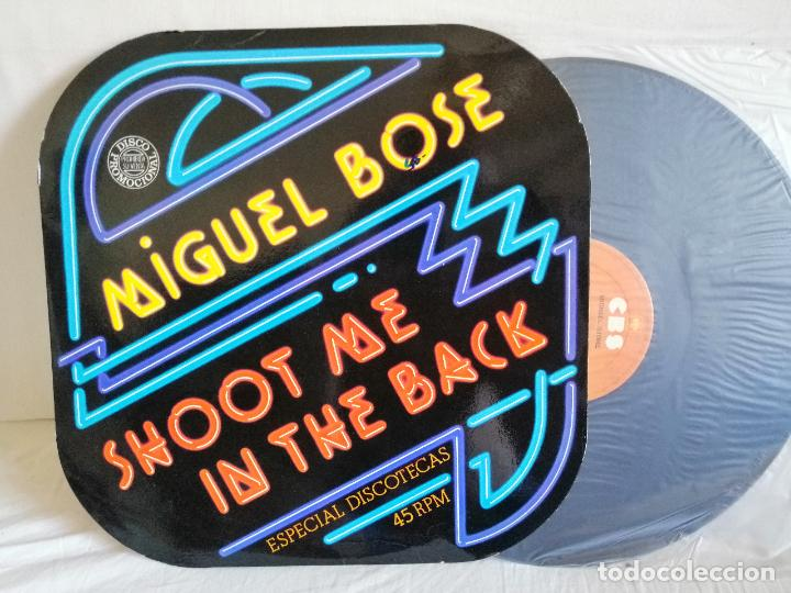 MIGUEL BOSE HOOT ME IN THE BACK MAXI NUEVO EDIC. ESPECIAL PROMOCIONAL. + DETALLES E INFORMACION EN (Música - Discos de Vinilo - Maxi Singles - Solistas Españoles de los 70 a la actualidad)
