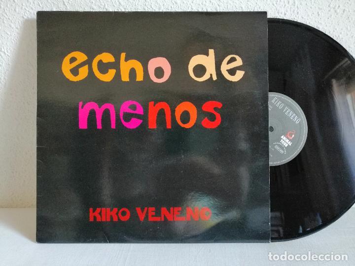 KIKO VENENO MAXI ECHO DE MENOS, COMO NUEVO. . VER + DETALLES E INFORMACION EN TEXTOS Y FOTOS ADJUNT (Música - Discos de Vinilo - Maxi Singles - Solistas Españoles de los 70 a la actualidad)