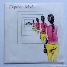 Discos de vinilo: DEPECHE MODE – DREAMING OF ME / ICE MACHINE , UK,1981 MUTE. Lote 286637708