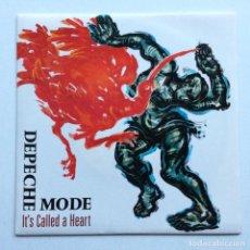 Discos de vinilo: DEPECHE MODE – IT'S CALLED A HEART / FLY ON THE WINDSCREEN , UK 1985 MUTE. Lote 286638568