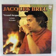 Discos de vinilo: LP - VINILO JACQUES BREL - 1 - GRAND JACQUES - ESPAÑA - AÑO 1979. Lote 286640058