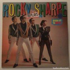 Discos de vinilo: ROCKY SHARPE & THE REPLAYS – ROCK IT TO MARS , SWEDEN 1980 CHISWICK. Lote 286650058