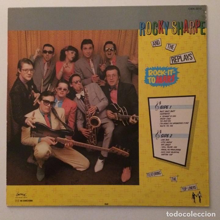 Discos de vinilo: Rocky Sharpe & The Replays – Rock It To Mars , Sweden 1980 Chiswick - Foto 2 - 286650058