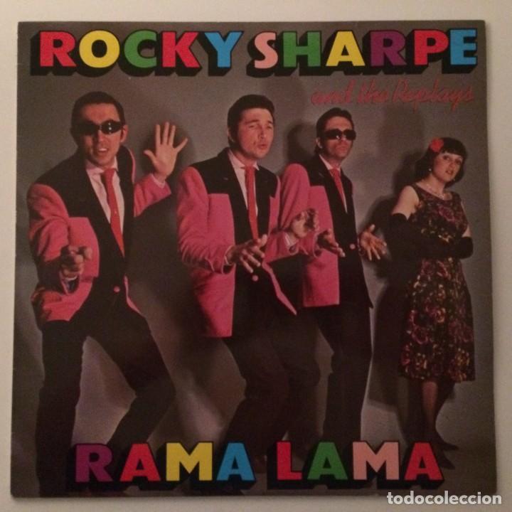 ROCKY SHARPE & THE REPLAYS FEATURING THE TOP-LINERS – RAMA LAMA , SCANDINAVIA (Música - Discos - LP Vinilo - Rock & Roll)