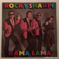 Discos de vinilo: ROCKY SHARPE & THE REPLAYS FEATURING THE TOP-LINERS – RAMA LAMA , SCANDINAVIA. Lote 286651333