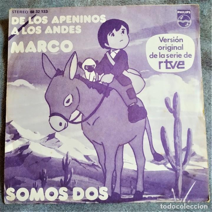 MARCO, DE LOS APENINOS A LOS ANDES, ESPAÑA 1977, PHILIPS – 68 32 133 (VG+_VG+) (Música - Discos de Vinilo - Maxi Singles - Música Infantil)