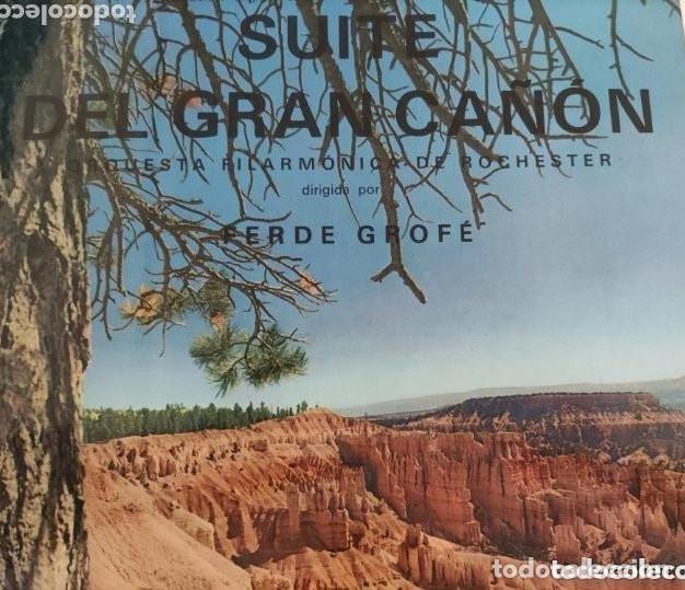 VINILO SUITE DEL GRAN CAÑÓN. ORQUESTA FILARMÓNICA DE ROCHESTER. FERDE GROFÉ. (Música - Discos - LP Vinilo - Orquestas)