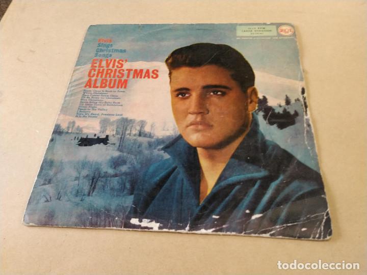 ELVIS CHRISTMAS ALBUM - LP RCA 3L10141 (Música - Discos - LP Vinilo - Rock & Roll)