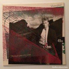 Discos de vinilo: BRIAN SETZER – THE KNIFE FEELS LIKE JUSTICE , GERMANY 1986 EMI AMERICA. Lote 286694608