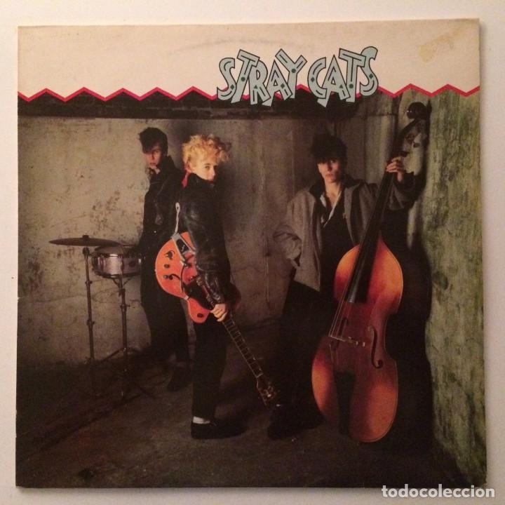 STRAY CATS – STRAY CATS , SCANDINAVIA 1981 ARISTA (Música - Discos - LP Vinilo - Rock & Roll)
