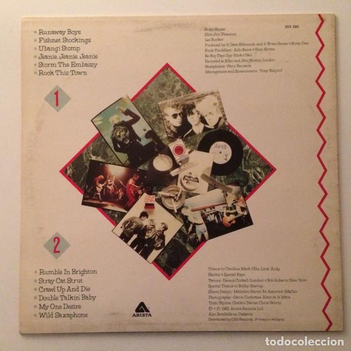Discos de vinilo: Stray Cats – Stray Cats , Scandinavia 1981 Arista - Foto 2 - 286696773