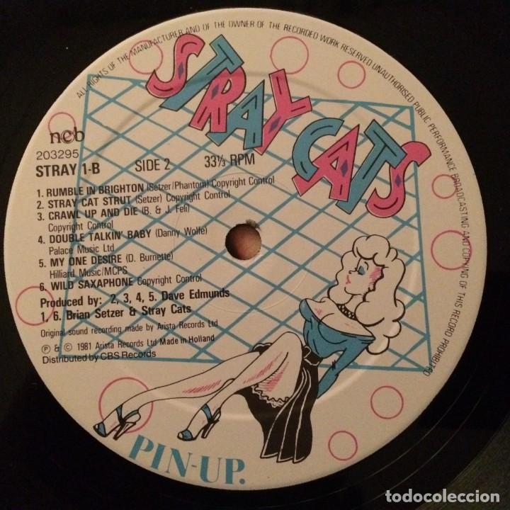Discos de vinilo: Stray Cats – Stray Cats , Scandinavia 1981 Arista - Foto 6 - 286696773