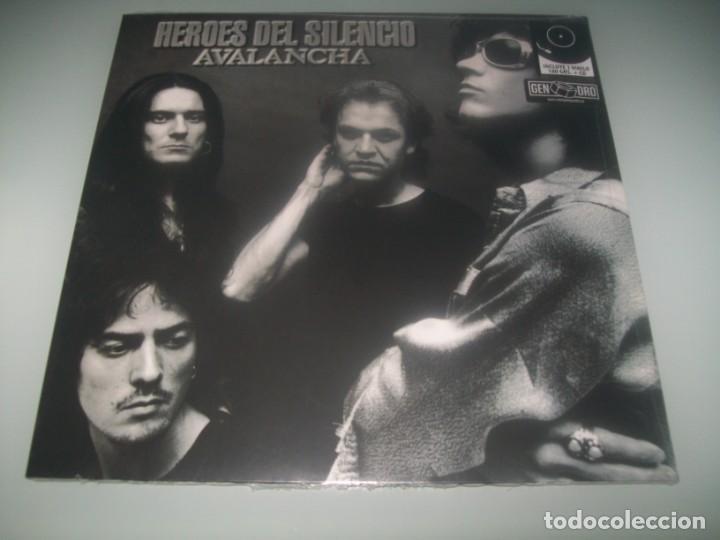 Discos de vinilo: HEROES DEL SILENCIO - AVALANCHA ...VINILO LP + CD PRECINTADO DE - 2020/1995 - Foto 2 - 286459373