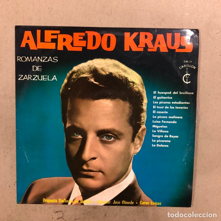 Discos de vinilo: ALFREDO KRAUS. LOTE DE 17 VINILOS. - Foto 4 - 286698163