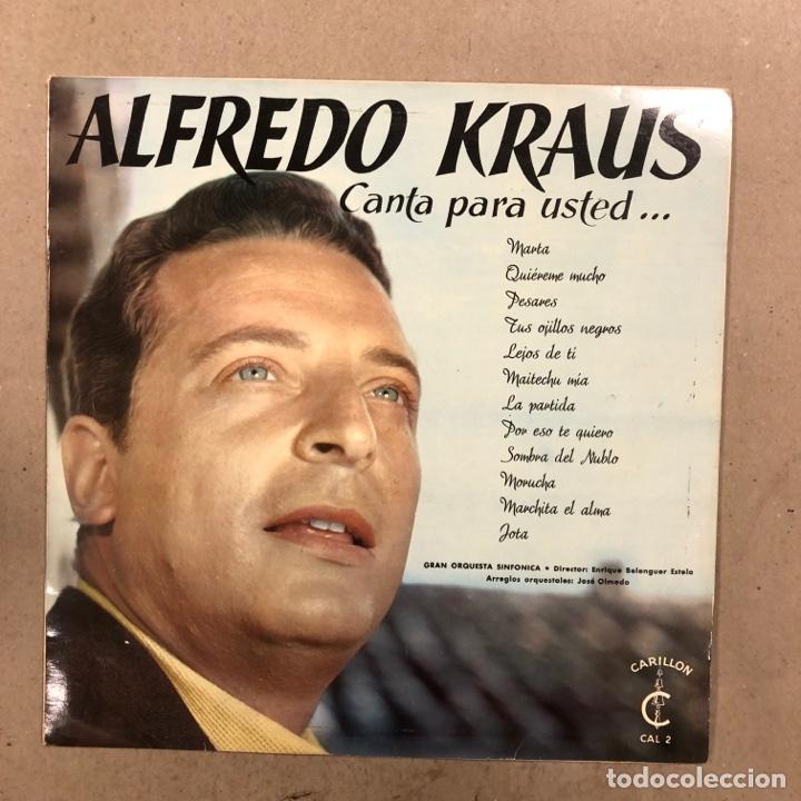 Discos de vinilo: ALFREDO KRAUS. LOTE DE 17 VINILOS. - Foto 6 - 286698163