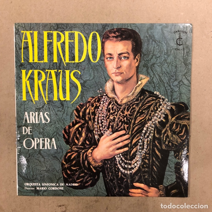 Discos de vinilo: ALFREDO KRAUS. LOTE DE 17 VINILOS. - Foto 7 - 286698163