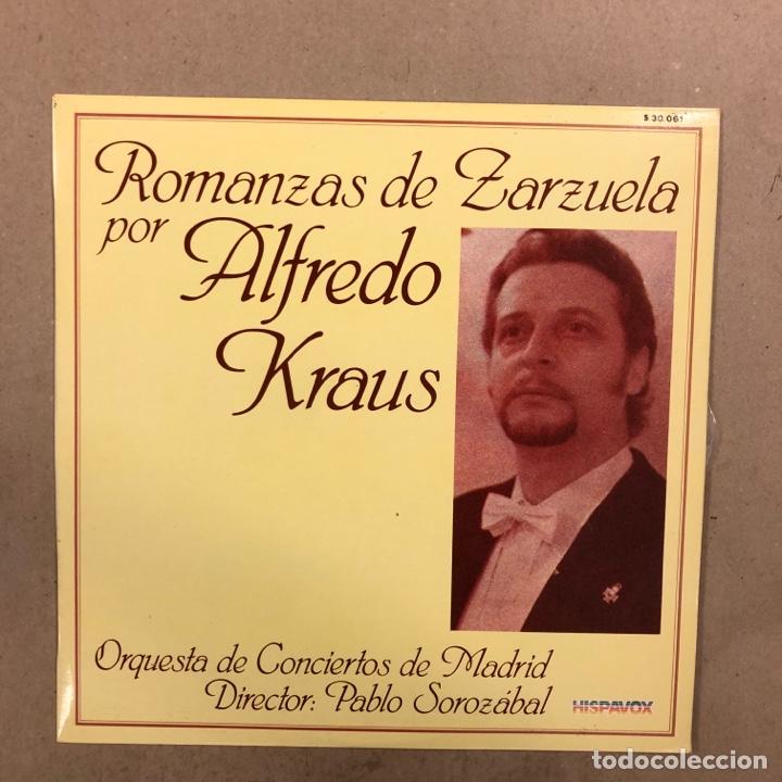Discos de vinilo: ALFREDO KRAUS. LOTE DE 17 VINILOS. - Foto 10 - 286698163