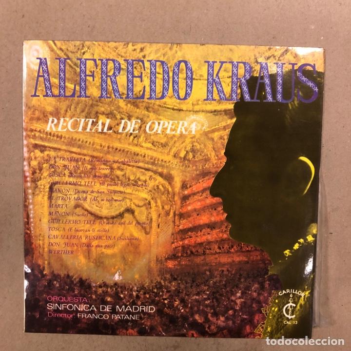 Discos de vinilo: ALFREDO KRAUS. LOTE DE 17 VINILOS. - Foto 11 - 286698163