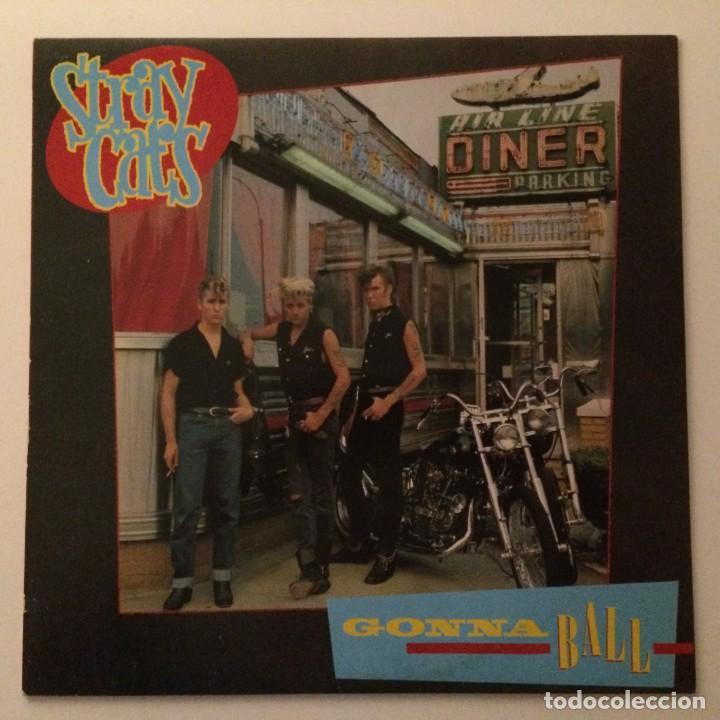 STRAY CATS – GONNA BALL , SCANDINAVIA 1981 ARISTA (Música - Discos - LP Vinilo - Rock & Roll)
