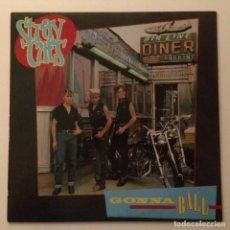 Discos de vinilo: STRAY CATS – GONNA BALL , SCANDINAVIA 1981 ARISTA. Lote 286699833