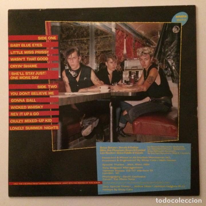 Discos de vinilo: Stray Cats – Gonna Ball , Scandinavia 1981 Arista - Foto 2 - 286699833