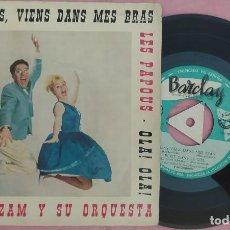 """Discos de vinilo: 7"""" BOB AZZAM - ECRIT DANS LE CIEL +3 - BARCLAY BCGE 28247 - SPAIN - EP (VG+/EX-). Lote 286704418"""