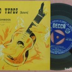 """Discos de vinilo: 7"""" NARCISO YEPES - JUEGOS PROHIBIDOS - DECCA SDGE 80026 - SPAIN - EP (EX+/EX+). Lote 286705248"""