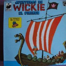 Dischi in vinile: LP - WICKIE EL VIKINGO - AVENTURAS (SPAIN, PHILIPS 1975, VER FOTO ADJUNTA). Lote 286708628