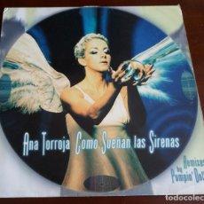 Discos de vinilo: ANA TORROJA - COMO SUENAN LAS SIRENAS - MAXI SINGLE.12 - 1998. Lote 286709708