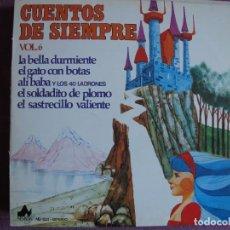 Dischi in vinile: LP - CUENTOS DE SIEMPRE VOL. 6 (VER FOTO ADJUNTA, DISCOS DIAL 1976). Lote 286710188