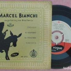 """Discos de vinilo: 7"""" MARCEL BIANCHI - FRENESI +3 - VOGUE HV 2713 - SPAIN PRESS - EP (EX-/EX-). Lote 286717378"""
