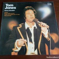 Disques de vinyle: TOM JONES - EXITOS DORADOS - LP - 1980. Lote 286723058