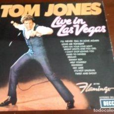 Disques de vinyle: TOM JONES - LIVE IN LAS VEGAS - LP - 1970. Lote 286723763