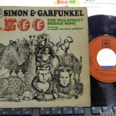 Discos de vinilo: SIMON & GARFUNKEL EP AT THE ZOO + 3 ESPAÑA 1967. Lote 286725703