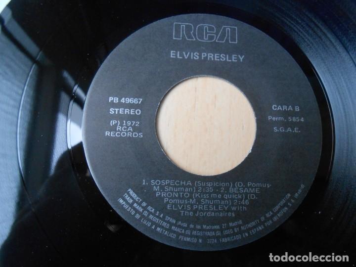 Discos de vinilo: ELVIS PRESLEY, EP, LA NOVIA DE MI MEJOR AMIGO + 3, AÑO 1987 REEDICION FACSIMIL - Foto 4 - 286728238