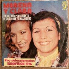 Discos de vinilo: MORENA Y CLARA. Lote 286737363