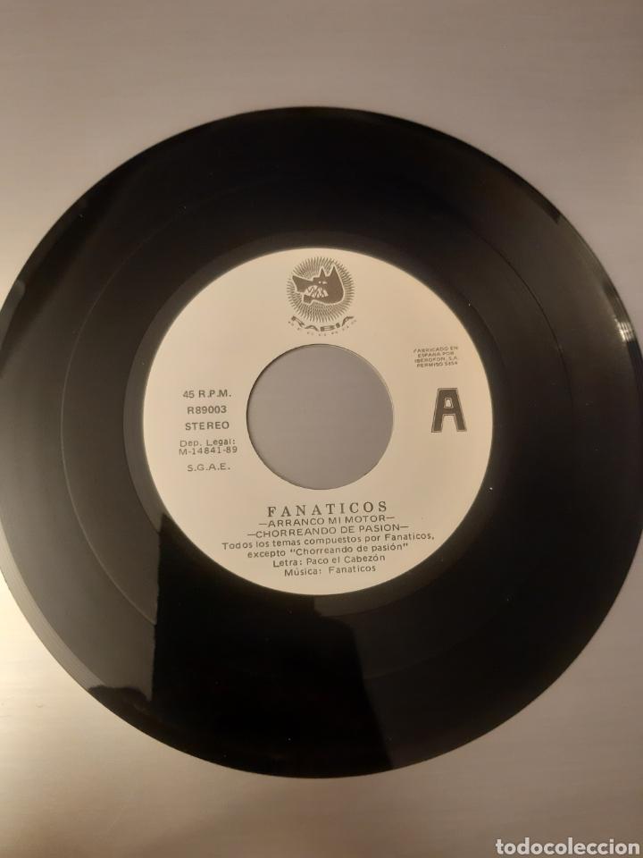 Discos de vinilo: DIFICIL! FANATICOS. ARRANCO MI MOTOR. 1989. ESPAÑA. - Foto 4 - 286742888