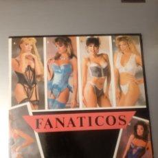 Discos de vinilo: DIFICIL! FANATICOS. ARRANCO MI MOTOR. 1989. ESPAÑA.. Lote 286742888