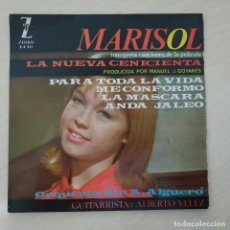 Discos de vinilo: MARISOL - LA NUEVA CENICIENTA - ME CONFORMO +3 - RARO EP ZAFIRO DEL AÑO 1964 VINILO VG PORTADA EX. Lote 286753773